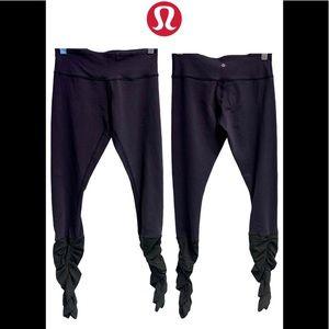 Lululemon dark purpleish gray leggings size 6